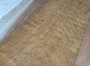 Rough sawn curly Cherry